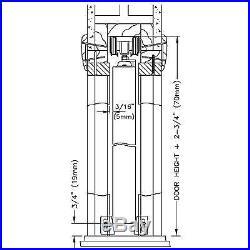 100PD Commercial Grade Pocket / Sliding Door Hardware (96)