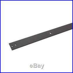 11FT Single Track Bypass Sliding Barn Door Hardware Kit For 2 Doors Easy Install