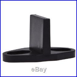 12FT Country Style Black Barn Wood Steel Double Sliding Door Closet Hardware Set