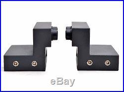 12 FT Black Modern European Style Barn Wooden Double Sliding Door Hardware Set