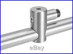 13FT Stainless Steel Double Modern Satin Sliding Barn Wooden Door Hardware Set