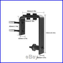 20FT Antique Bypass Sliding Barn Door Hardware Track Kit For 4 Doors Closet Rail