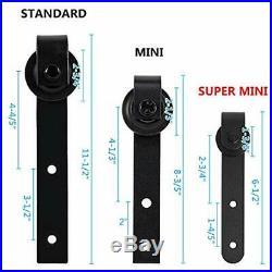 3.25ft Super Sliding Door Hardware Mini Cabinet Barn Kit No Noise Easy To For TV