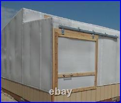(3) Stanley N174-268 5220 2 pack Zinc Box Rail Barn Door Trolley Hangers Rollers