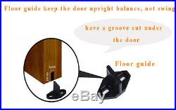 416FT Single/Double/Bypass Antique Sliding Barn Wood Door Closet Hardware Kit