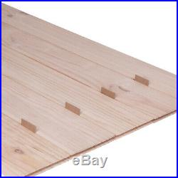 42x 84 Unfinished Knotty Pine Sliding Barn Door (Not Include Hardware) (Arrow)