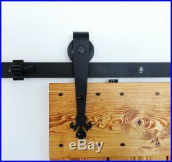 4-20FT Sliding Barn Door Hardware Closet Track Kit, Single/Double/Bypass