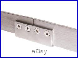 4-20FT Stainless Steel Mordern New Bypass Sliding Barn Double Door Hardware Kit