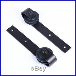 Sliding Door Hardware » 4-20FT Wood Sliding Barn Door Hardware