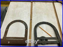 4 Vintage Antique Cast Iron Sliding Barn Door Hangers Rollers Hardware