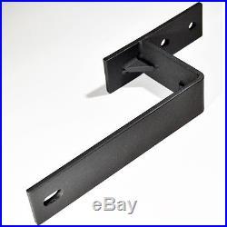 5-16FT Bypass Spoke Wheel Sliding Barn Door Hardware Heavy duty Roller Track Set