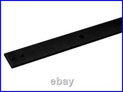 6FT Black Sliding Barn Door Hardware Set with30x80 White Primed MDF Door Plank
