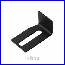 6/6.6FT Mini Small Sliding Barn Door Hardware Kit Cabinet TV Stand J shape