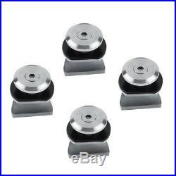 8-10mm Stainless Steel Glass Sliding Barn Door Hardware Track Shower Doors Set