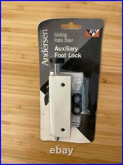 ANDERSEN Gliding Patio Door Auxiliary Foot Lock 1997301