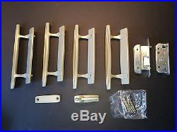 AndersEN Sliding 4 panel Door Handle trime SET HARDWARE STONE color