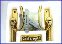 Andersen Gliding Sliding Bright Brass Reachout Door Hardware Handle 2562613
