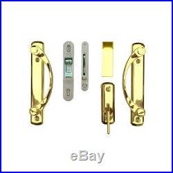 Andersen Sliding Door Lock Handle Patio Hardware Set 2Panel Universal/Reversible