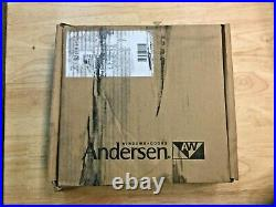 Anderson 2579744 Newbury Gliding Door Trim Set, Oil Rubbed Bronze Finish