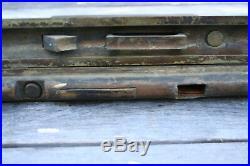 Antique Pocket Door Locks Norwalk Lock Co. Sliding Mortise Lock Brass Vintage
