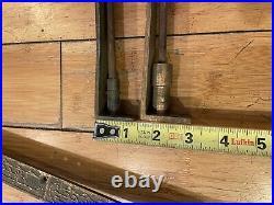 Antique Vintage Art Deco Flush Mount Door Bolt Slide Lock Latch 24 inches