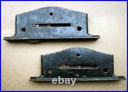 Antique Vintage Old Cast Iron Pocket Door Rollers Wheels Sliding Hardware Barn