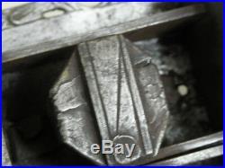 Antique ornate Slide Bolt Latch Lock door old Castle Handmade SMITH MADE
