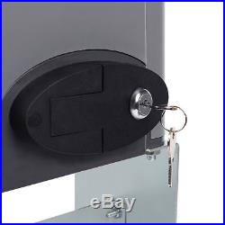 Auto Sliding Gate Opener Operator Hardware Kit Driveway Security Door 1400lbs