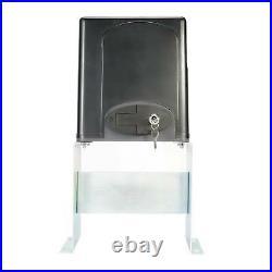 Auto Sliding Slide Gate Opener Hardware Driveway 1400LBS Door Operator Kit sw