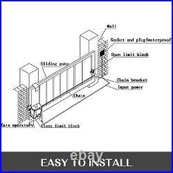 Automatic Sliding Doors Operator Gate Opener Rolling Hardware Driveway Motor