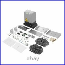 Automatic Sliding Gate Opener Door Operator Rolling Hardware Driveway Motor Kit