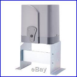 Automatic Sliding Gate Opener Hardware Driveway Door Operator Kit 1400lb 3300lbs