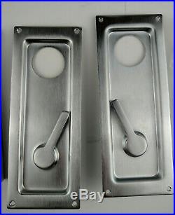 Baldwin Hardware 8576 Trim + 8575 Sliding Door Mortise Incomplete set 264