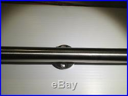 Basora European Modern Stainless Wood Sliding Barn Door Hardware Set 8FT 96