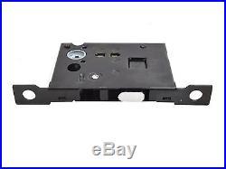 Black Zinc Alloy Invisible Barn Wood Sliding Door Gate Cup Handle Lock Hardware