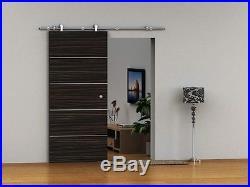 Cordia European Modern Stainless Wood Sliding Barn Door Hardware Set (NO RAIL)