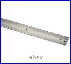 DIYHD Brushed Nickel Steel Bypass Double Sliding barn Door Hardware