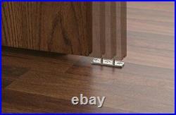 DIYHD Brushed Stainless Steel Sliding Barn Door Hardware Top Mount Roller