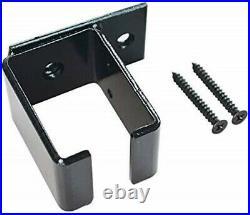 DIYHD Double Sliding Barn Door Hardware Ceiling Mount Bracket Box Track Kit