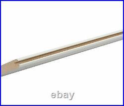 DIYHD Fish Bone V Shape MDF Solid Core Primed Sliding Barn Interior Door Slab