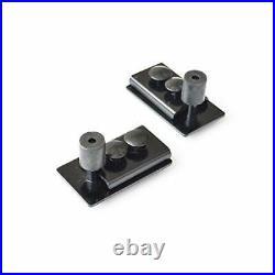 DIYHD M0083-5ft Box Rail Hardware Heavy Duty Steel Sliding Barn Door Track, 5FT
