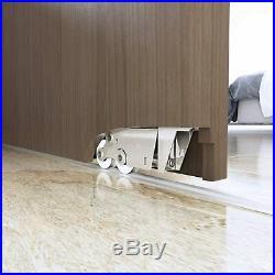 DIYHD Soft Closing Interior Wall Mount Hidden Track Sliding Barn Door Hardware