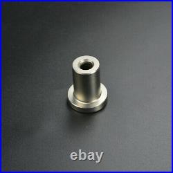 DIYHD Two-Side Soft Closing Mechanism Brushed Nickel Sliding Barn Door Hardware