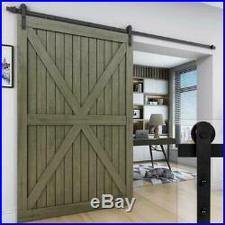 Easelife 10 Ft Heavy Duty Sliding Barn Door Hardware Track Kit Diy Easy Instal
