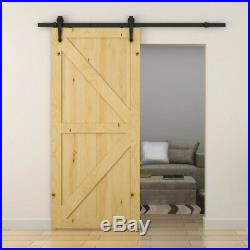 Everbilt Sliding Barn Door Track Hardware Kit 72 in. Steel Oil-Rubbed Bronze