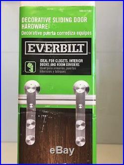 Everbilt Stainless Steel Decorative Sliding Door Hardware Building Materials Kit