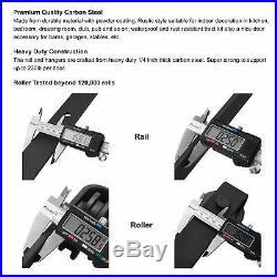FaithLand 12FT Sliding Barn Door Hardware Track Kit 12 Foot Rail Kit One. New