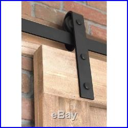 Farmhouse Sliding Door Barn Doors Country Style Unfinished With Hardware Kit