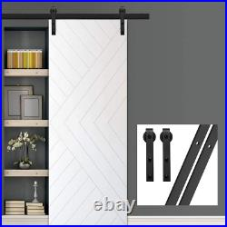 GIFSIN 7FT 213cm Sliding Barn Door Hardware Track Set Sliding Door Kit Closet