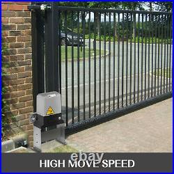 Gate Opener Hardware Door Operator Kit Automatic Sliding Driveway Security Motor